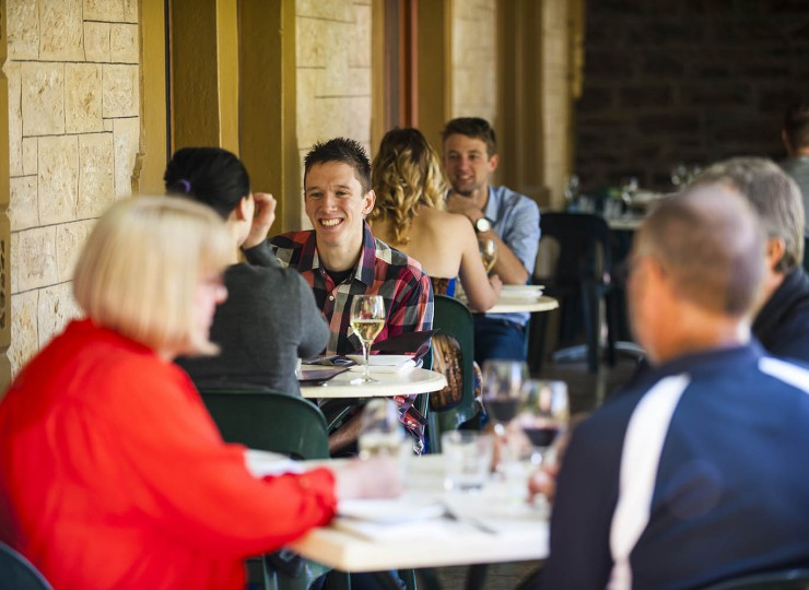 Outdoor Dining in the Barossa